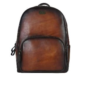 Leather Unisex Backpack