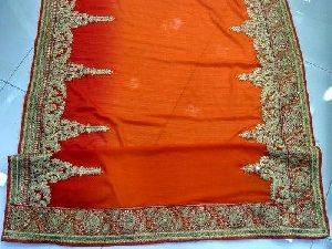 Saree Embroidery Job Work