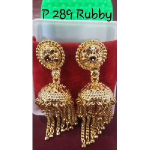 Brass Festive Wear Earrings
