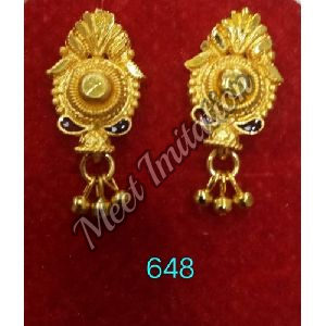 Brass Traditional Earrings