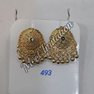 Brass Trendy Earrings
