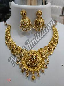 Gold Plated Necklace Set