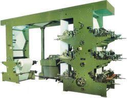 Twelve Color Flexographic Printing Machine