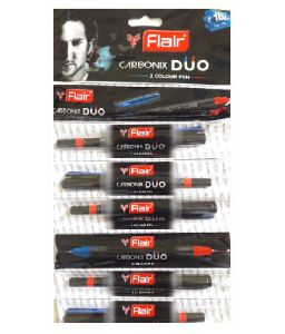 BALL PEN 2 COLOUR CARBONIX DUO FLAIR