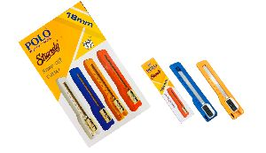 CUTTER BIG 18 MM ( PACK OF 10 PIECES) STURRDY POLO