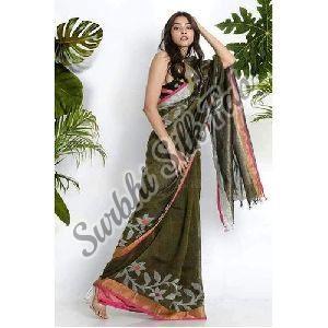 Silk Jamdani Saree