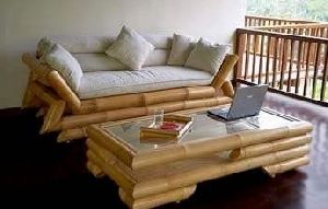 Bamboo Couch Table Set