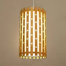 Bamboo Hanging Lights