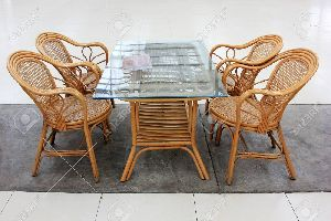 Bamboo Tea Table Set
