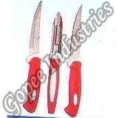 Heavy Kitchen Knife & Peeler Set