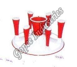 Plastic Glass Stand