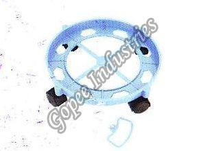 Round Plastic Cylinder Trolley