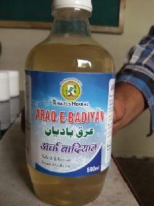 Araq E Badiyan Syrup