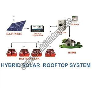 Hybrid Rooftop Solar System