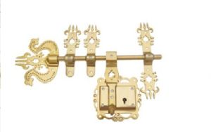 Trishul Antique Door Lock