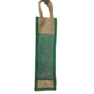 1 Bottle Jute Wine Bag