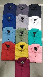 Mens Crystal Plain Shirt