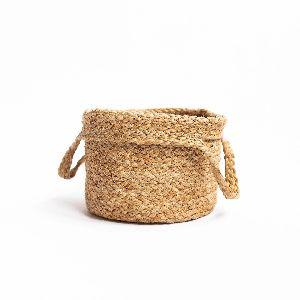 Brown Braided Basket