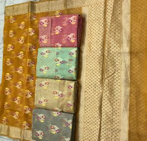 Casual Wear Banarasi Sarees