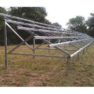 GI Solar Mounting Structure