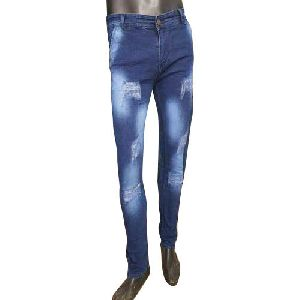 Mens Rough Jeans