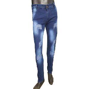 Mens Rough Jeans
