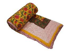 Double Bed Jaipuri Quilt