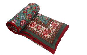 Single Bed Jaipuri Quilt