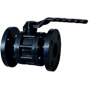Flanged Plastic Ball Valve