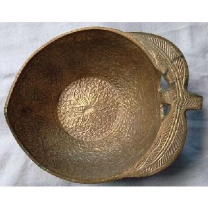 Apple Shaped Brass Bowl