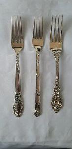 Brass Fork Set