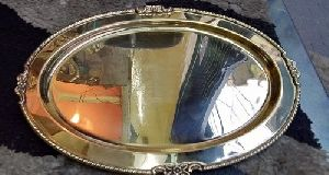 Designer Brass Serving Tray