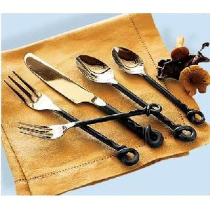 Designer Iron Spoon & Fork Set
