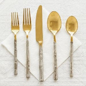 Designer Spoon & Fork Set