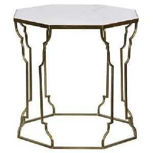 Iron Polygon Table