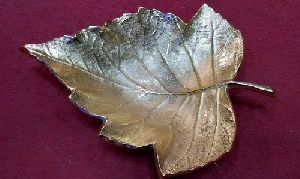 Leaf Shaped Handcrafted Serving Platter