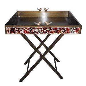 Stainless Steel Designer Table
