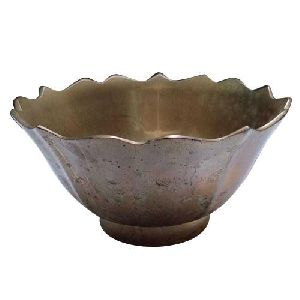 Strawberry Shaped Brass Bowl