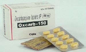 Oxcarb 150 Mg Tablet
