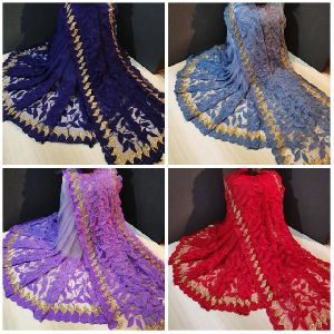 Designer Butterfly Net Saree