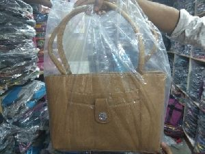 Ladies Beige Handbag