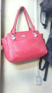 Ladies Pink Handbag