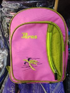 Pink Color School Bag