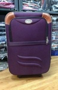 Purple Travel Suitcase