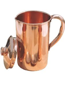 Copper Plain Jug