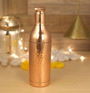 Copper Wine Bottle