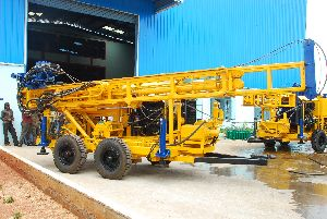 Trolley Mounted Core Drilling Rig