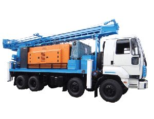 PDTHR-150 Truck Mounted DTH Cum Rotary Drilling Rig