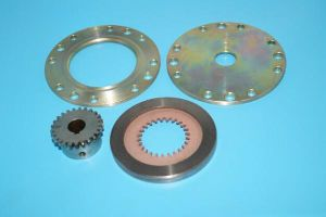 Mitsubishi brake,a set of 4,replacement parts for mitsubishi printing machine