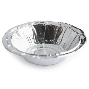 7 Inch Silver Laminated Paper Bowl